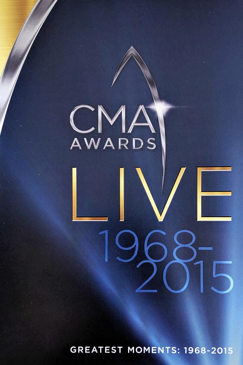 pin cma awards live booklet