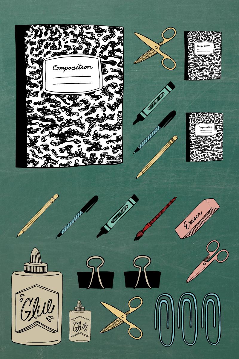 pin school supplies office supplies