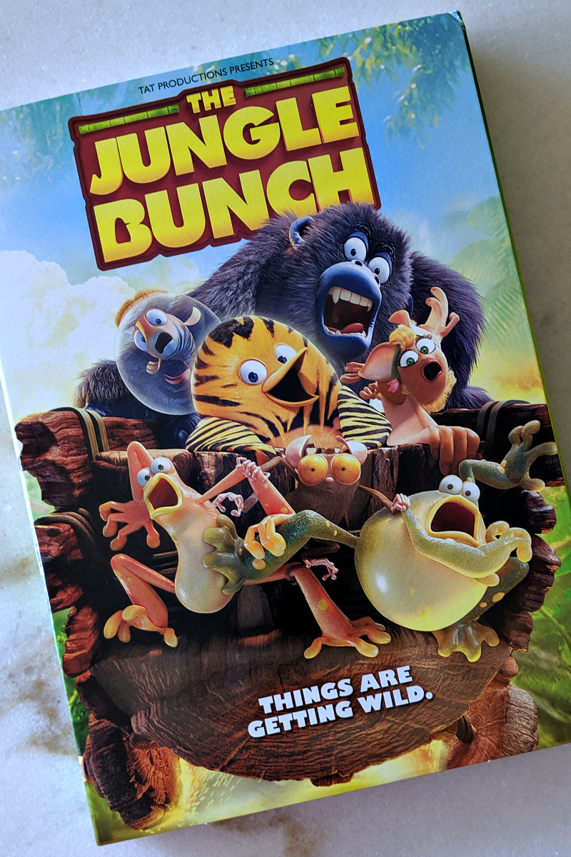 pin the jungle bunch dvd