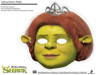 printable fiona mask
