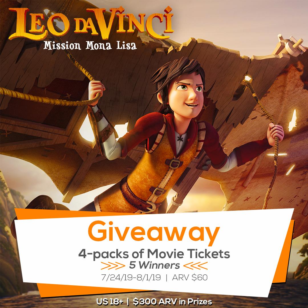 Leo Da Vinci: Mission Mona Lisa Giveaway