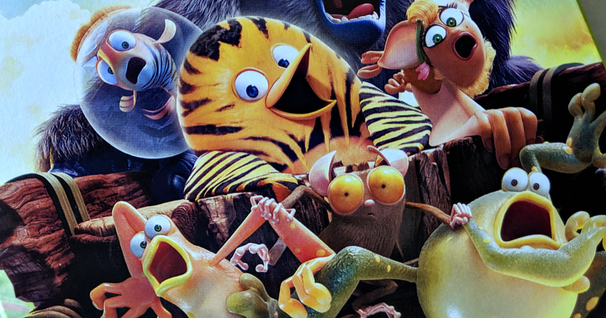 the jungle bunch animated characters