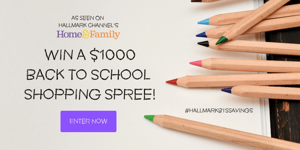hallmark channel back to school sweepstakes