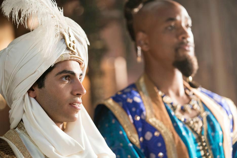 aladdin and genie movie scene