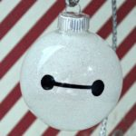 Disney DIY Baymax Ornament Craft