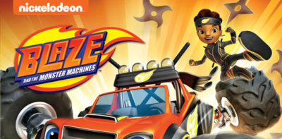 blaze and the monster machines ninja dvd