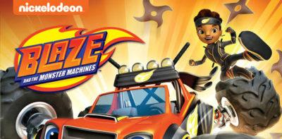 blaze and the monster machines ninja dvd