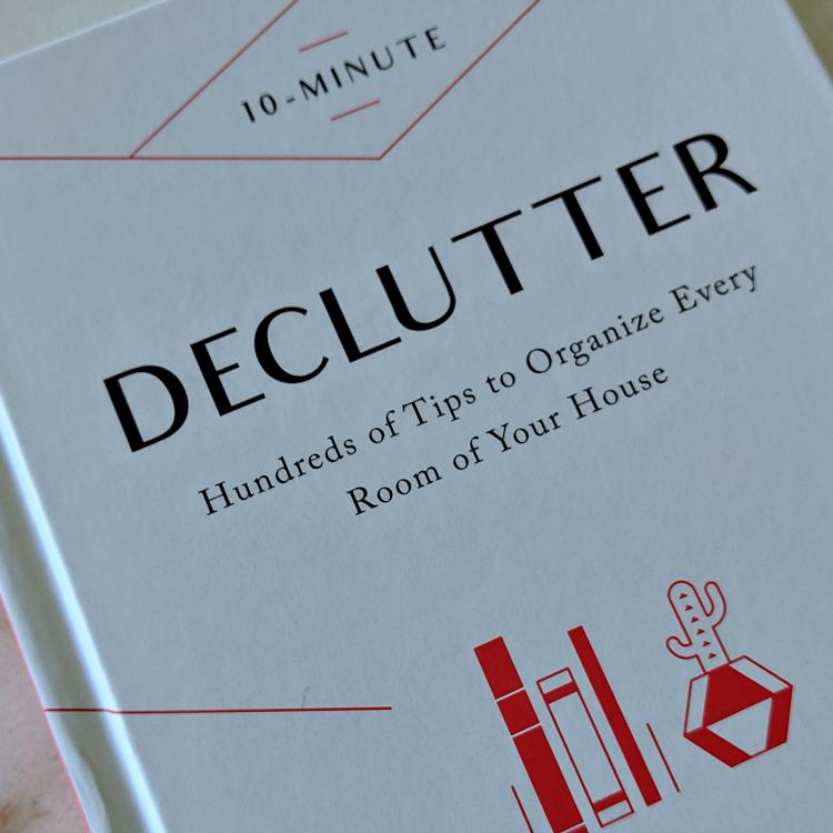 book - 10 minute declutter
