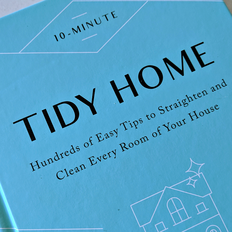 book - 10 minute tidy home