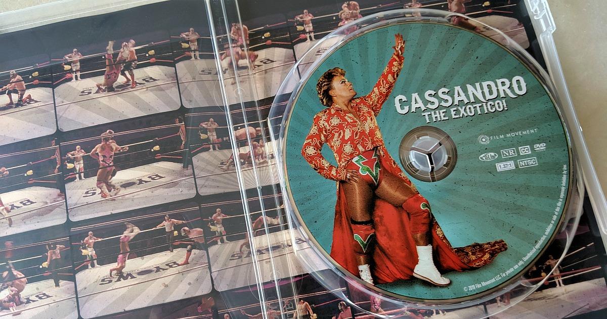 dvd cassandro the exotico