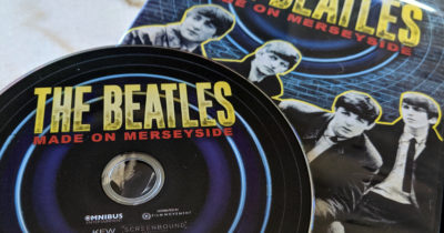 dvd disc the beatles made on merseyside