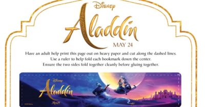 feature Aladdin Bookmarks