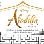 Free Printable Aladdin Palace Maze