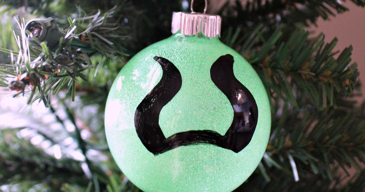feature diy maleficent ornament craft