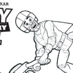 Free Printable Toy Story Duke Caboom Coloring Page