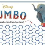 Free Printable Disney Dumbo Maze Activity Page