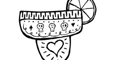 margarita coloring page