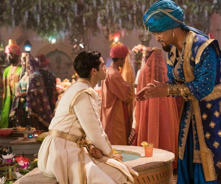 genie and aladdin movie scene
