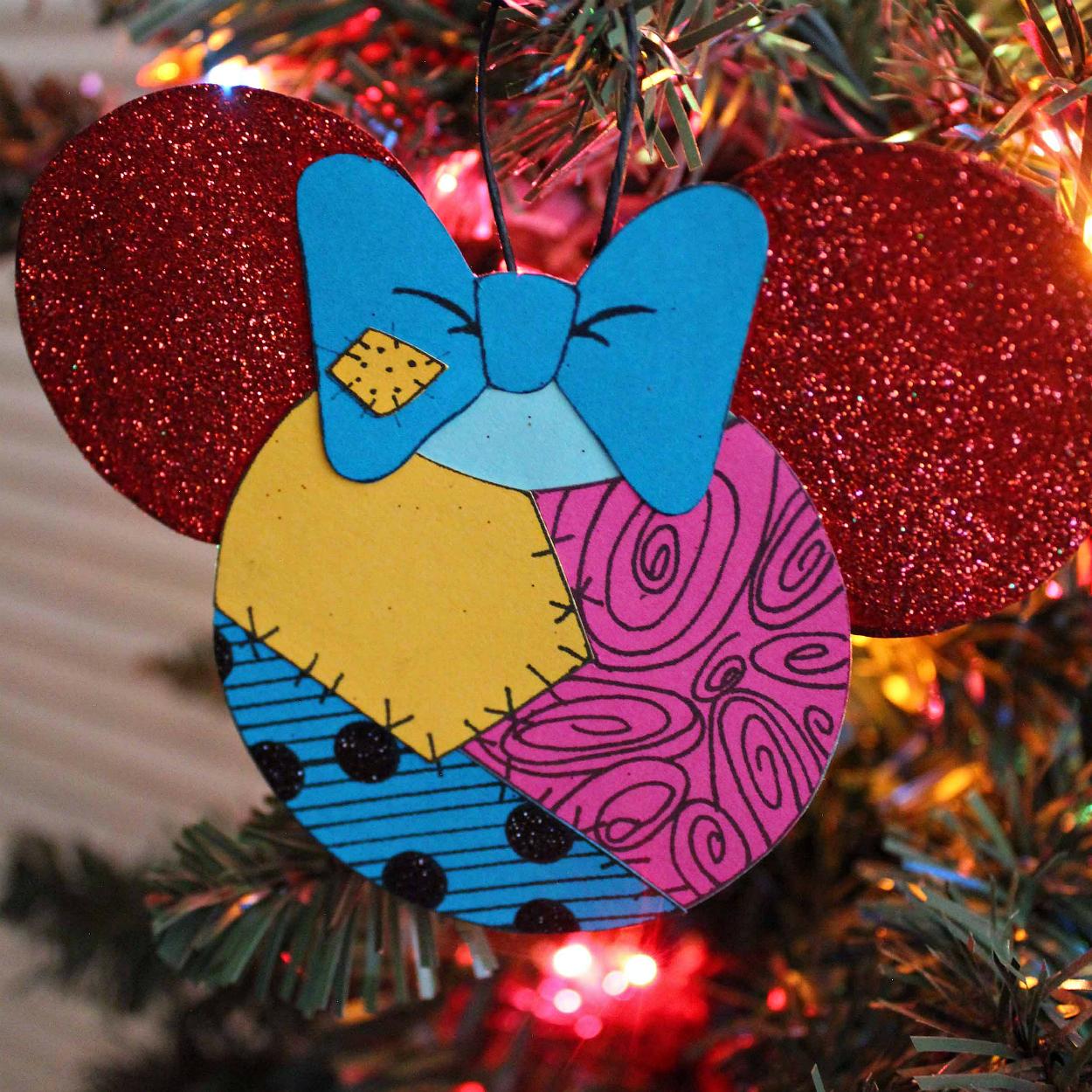 mickey ears sally ornament