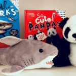 Nat Geo Sharks and Pandas Books