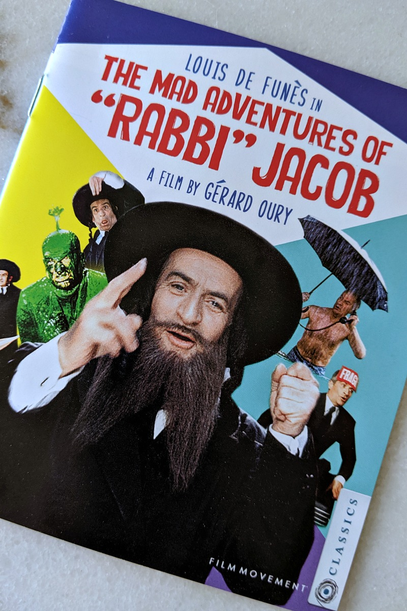 The Mad Adventures of Rabbi Jacob Blu-ray