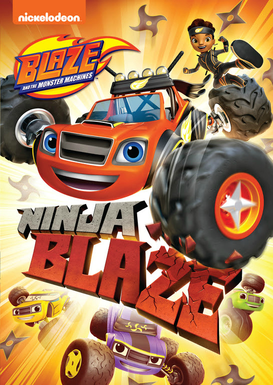 Nick Jr Blaze and The Monster Machines Ninja Blaze DVD