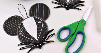 nightmare before christmas diy jack skellington ornament