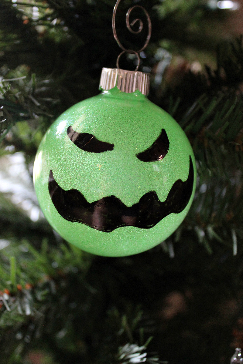 Disney Diy Oogie Boogie Ornament Craft Mama Likes This