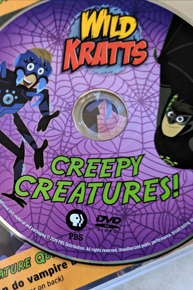Wild Kratts Halloween DVD Creepy Creatures