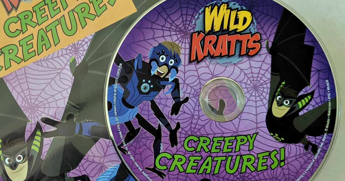 pbs wild kratts halloween dvd