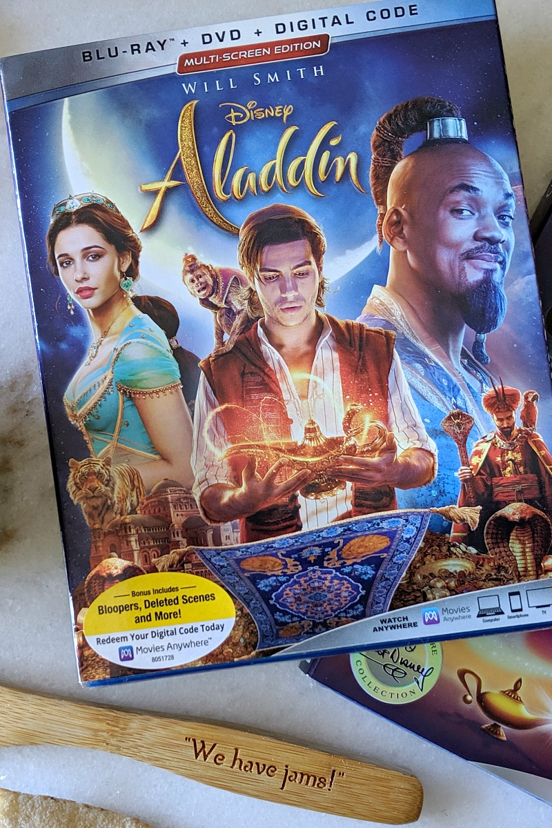 Disney Aladdin Live Action Movie on Blu-ray DVD and Digital