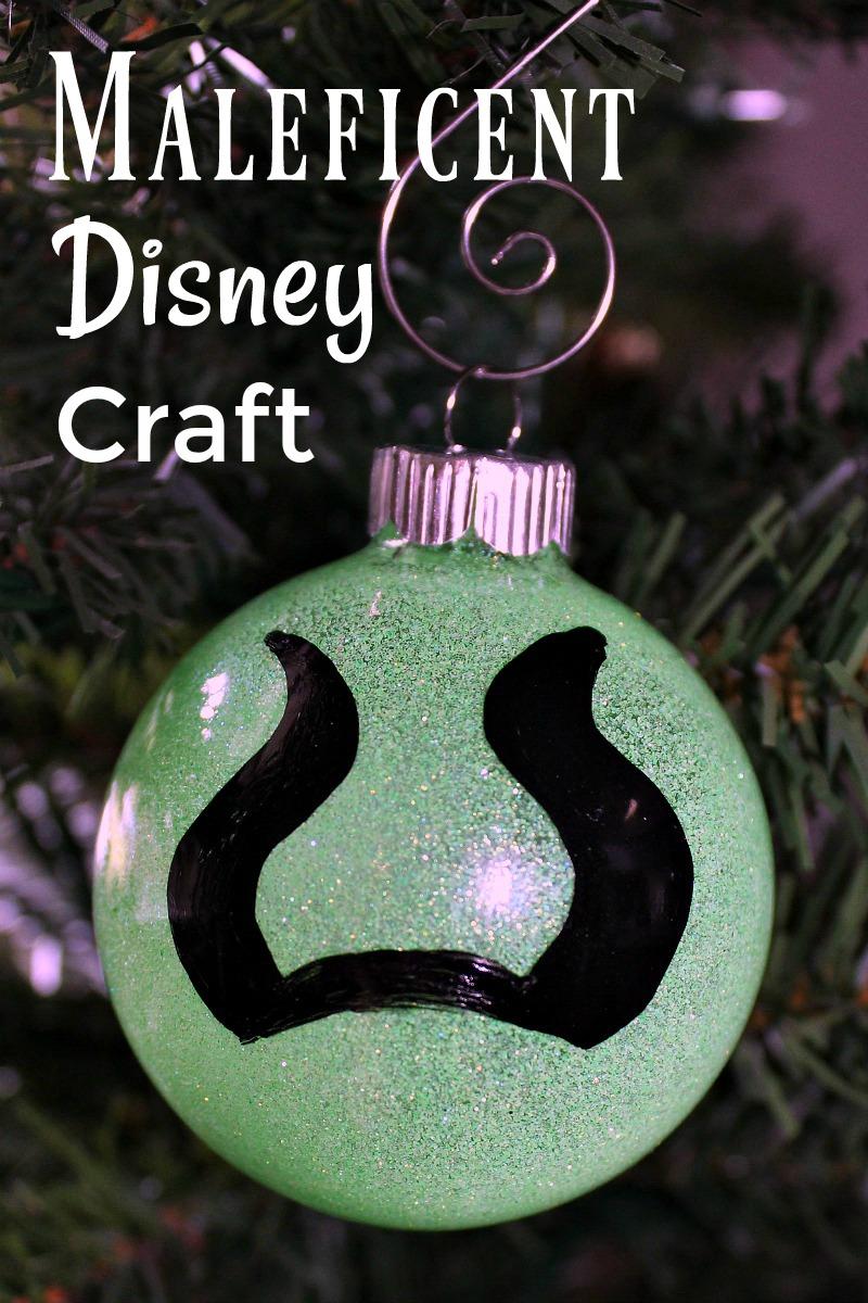 pin close up maleficent ornament craft