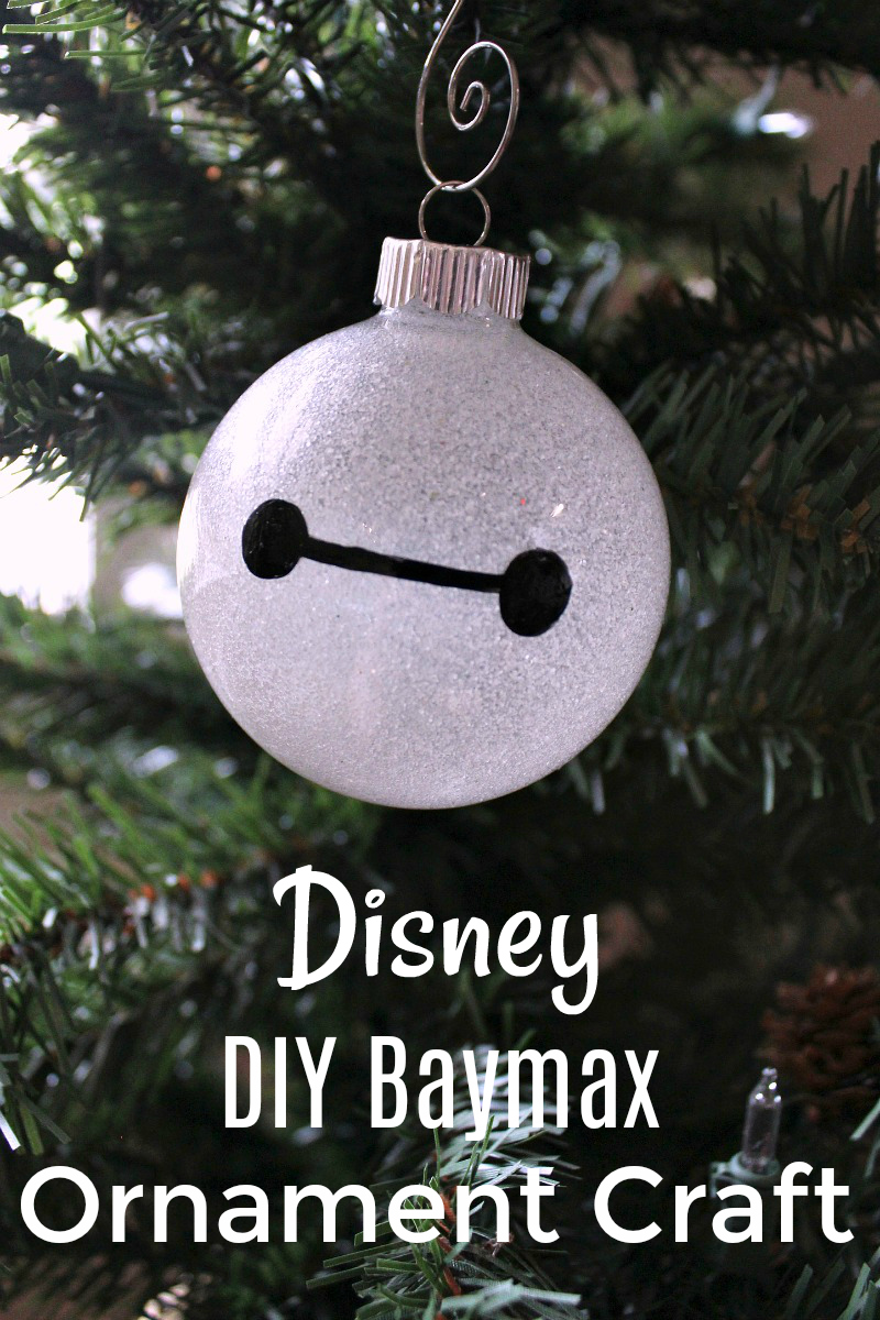 pin disney diy baymax ornament craft