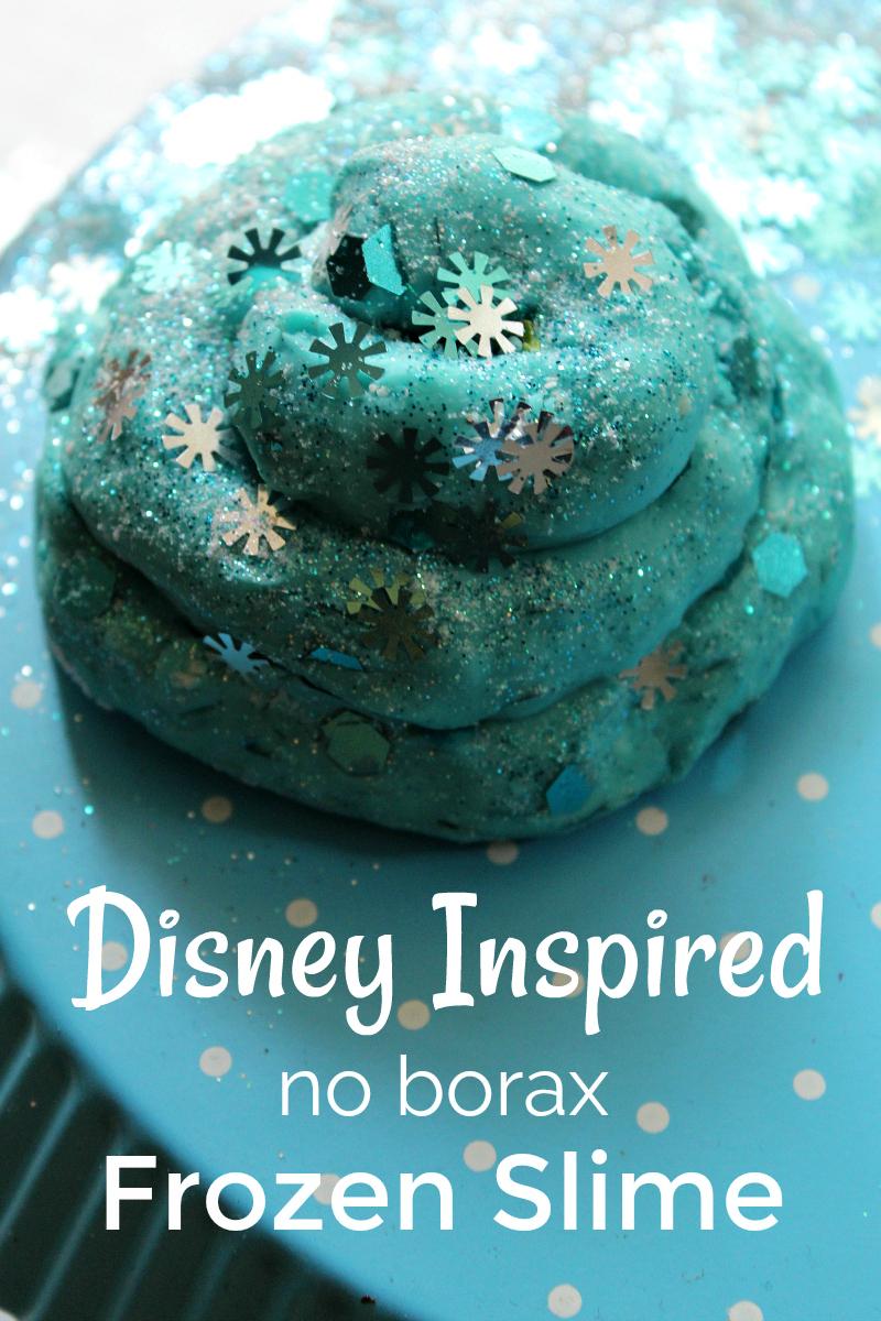 Disney Frozen Slime #Slime #DIYSlime #frozen #frozen2 #disney #puddingslime #puffyslime #frozencraft #disneycraft