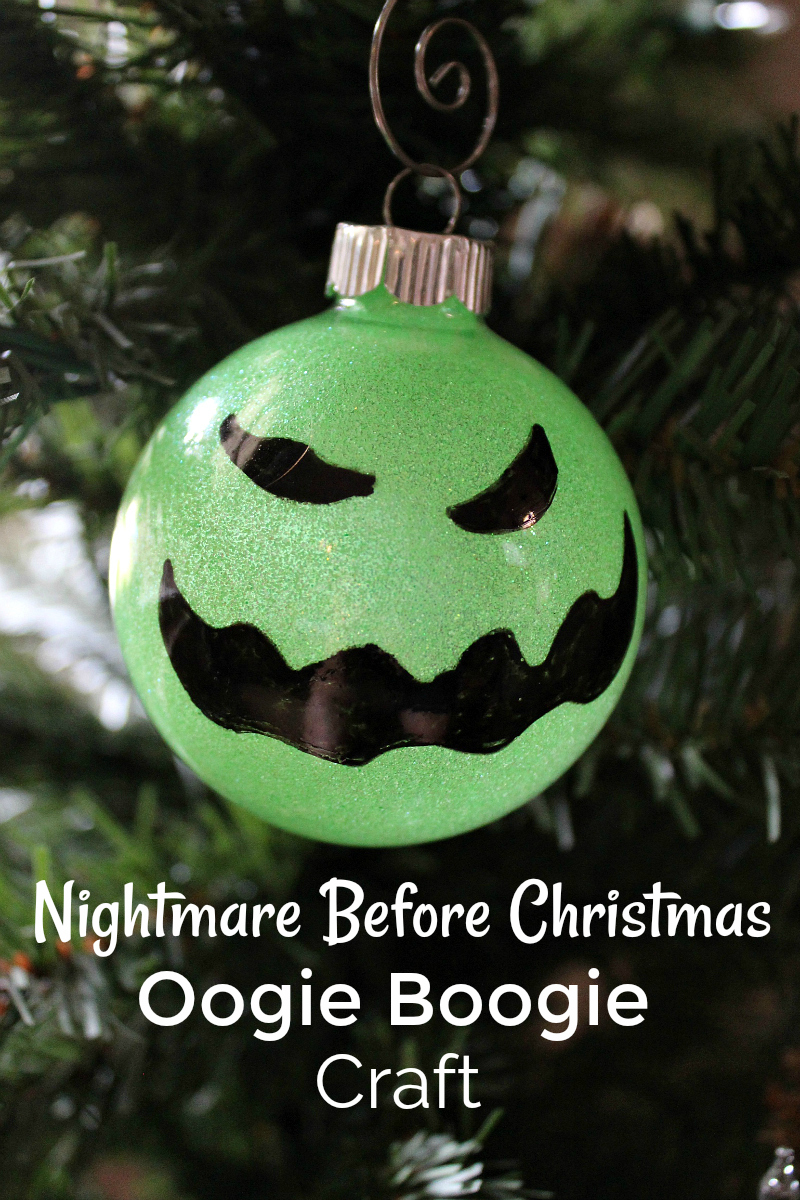 pin diy oogie boogie ornament craft on christmas tree