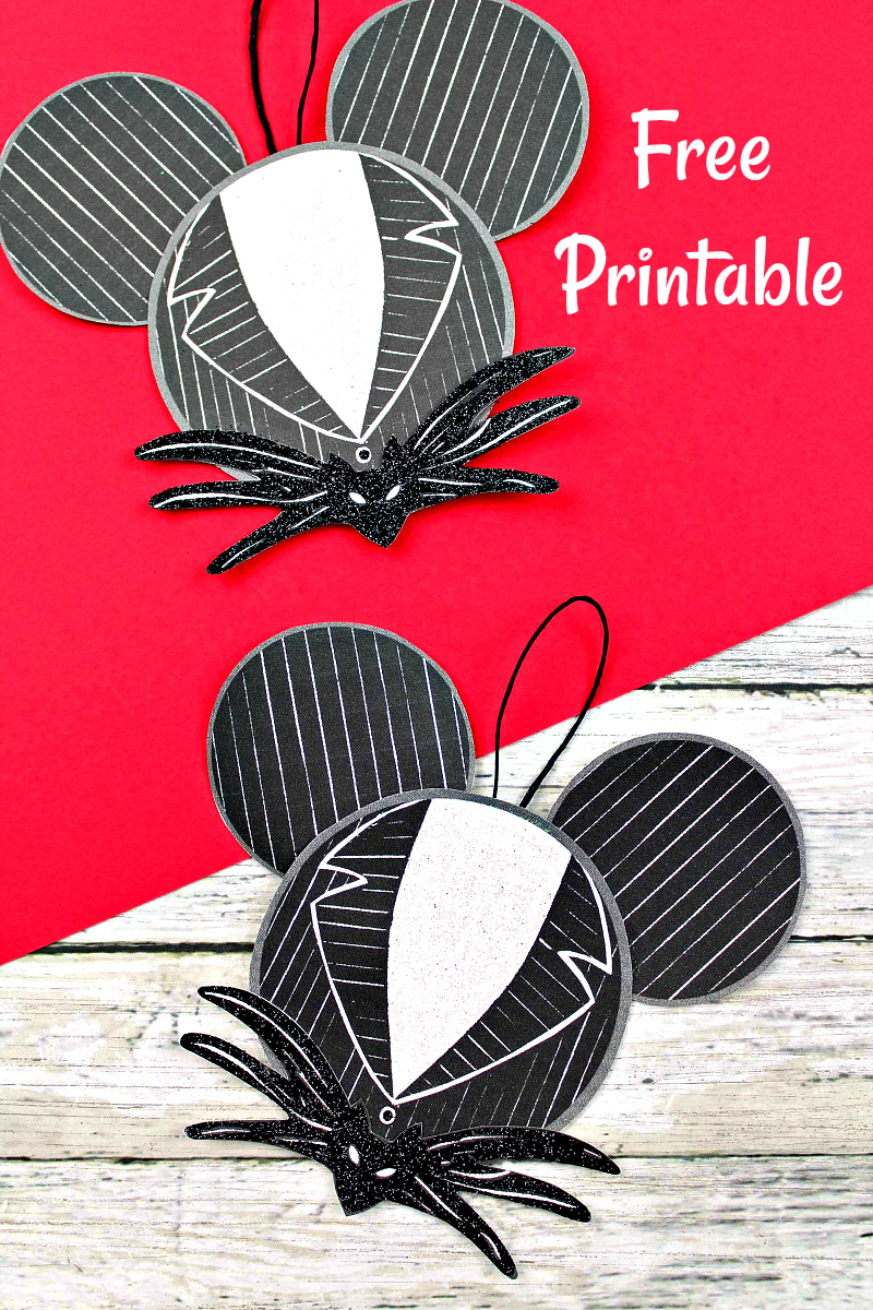pin jack skellington diy ornament