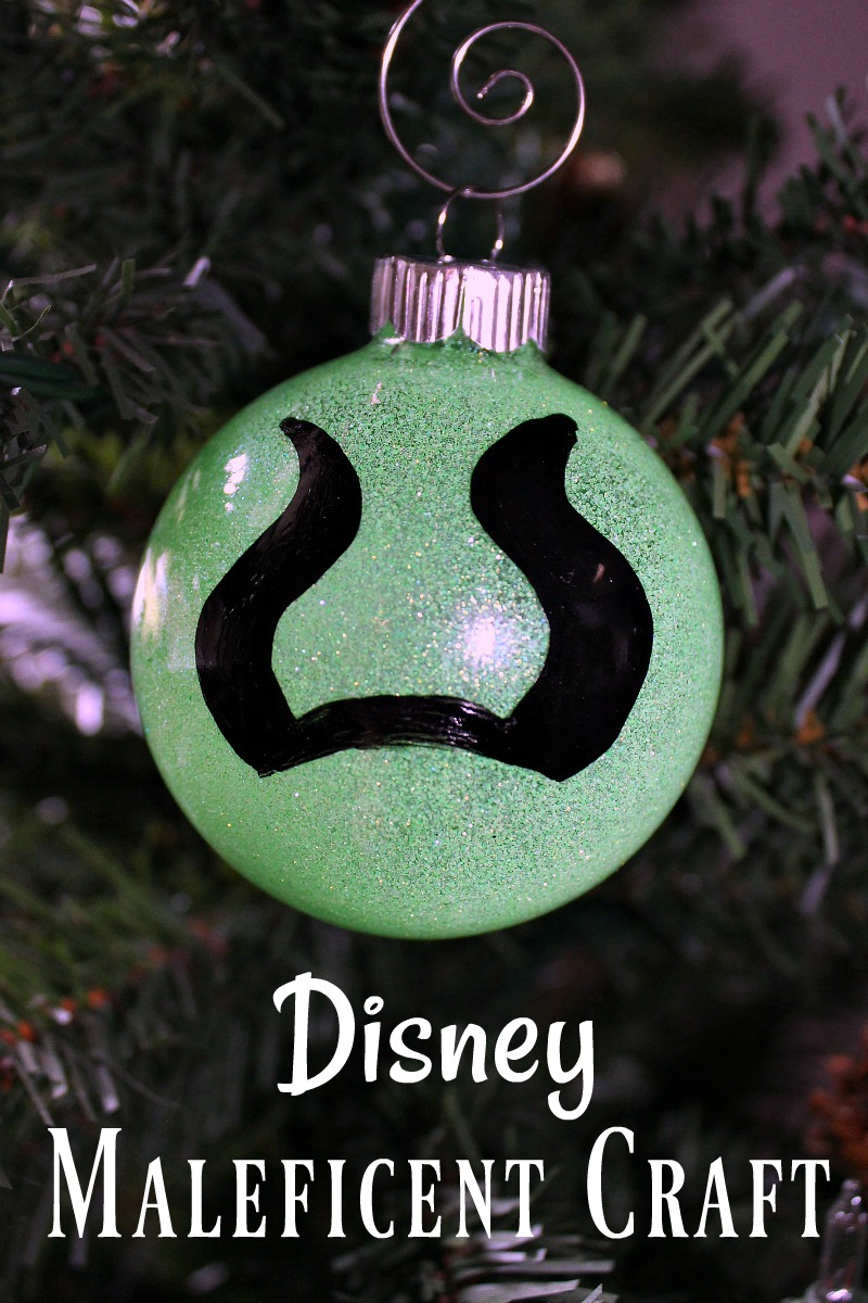 pin maleficent christmas craft ornament