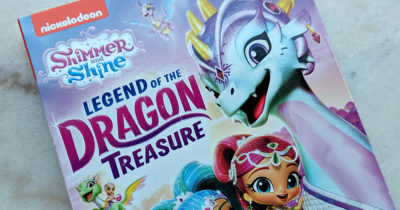 shimmer and shine dragon dvd