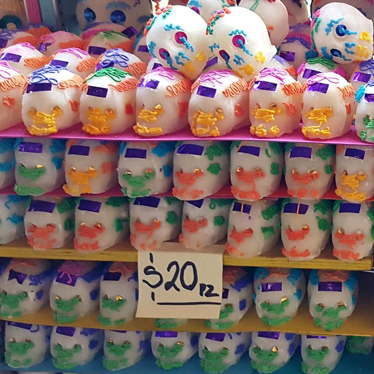sugar skulls 20 pesos