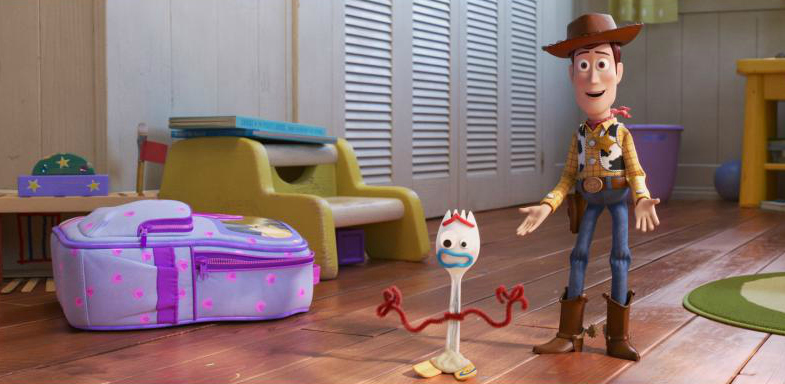 toy story forky and woody