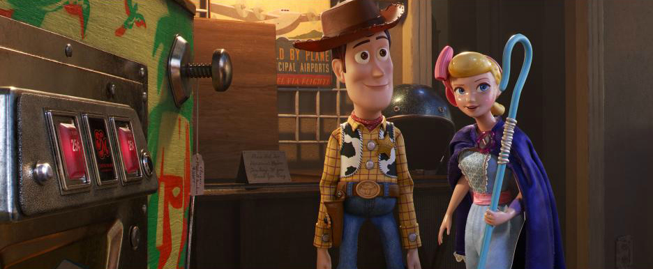 toy story woody and bo peep