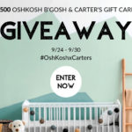 OshKosh Gift Card Giveaway