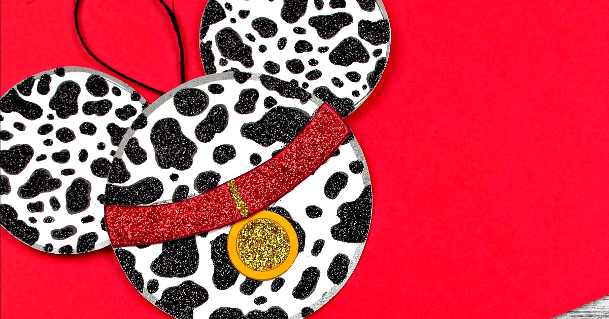 disney dalmatian ornament printable craft