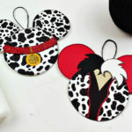Free Printable 101 Dalmatians Cruella Ornament Craft