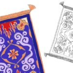 Free Printable Aladdin Flying Carpet Craft