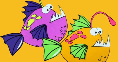feature angler fish craft