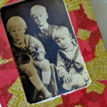 Holiday Decoupage Picture Frame Craft