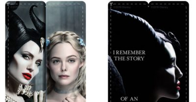 feature maleficent bookmarks