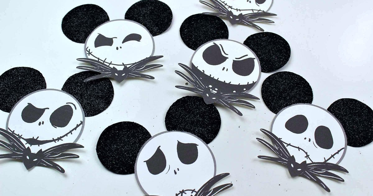feature many faces of jack skellington ornament craft