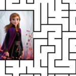 Frozen 2 Maze Printable from Disney